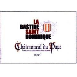Bastide Saint Dominique AOC Chateauneuf-du-pape rouge 2012